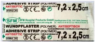 Сфм стрип пластырь бактерицидный 7,2х2,5см 1 шт.