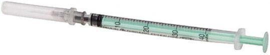 Сфм шприц инсулиновый трехкомпонентный u40/u100 1мл с иглой 26g 1 шт., фото №1