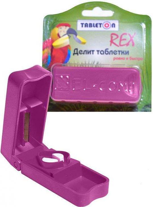 Таблетон рекс делитель таблеток с местом для хранения, фото №1