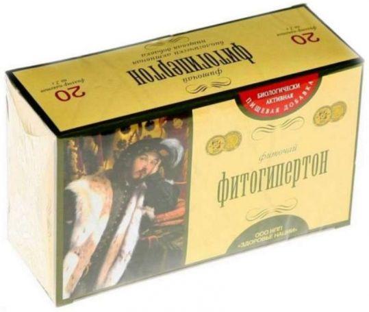 Фитогипертон чай фильтр-пакет 20 шт., фото №1