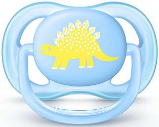 Авент ультра эйр пустышка силиконовая для мальчиков 0-6 месяцев (scf544/10) 1 шт.