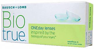 Био тру ван дэй линзы контактные мягкие -6,50 30 шт.