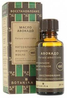 Ботаника масло жирное авокадо 30мл