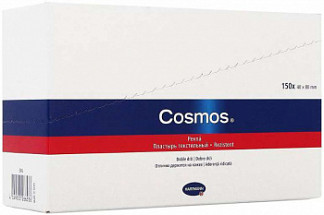 Хартманн космос стрипс пластырь пластинки 8x4см 150 шт.