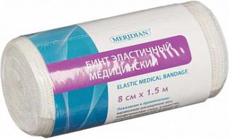 Меридиан бинт эластичный 8x150см