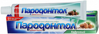 Пародонтол зубная паста кедровая 63г