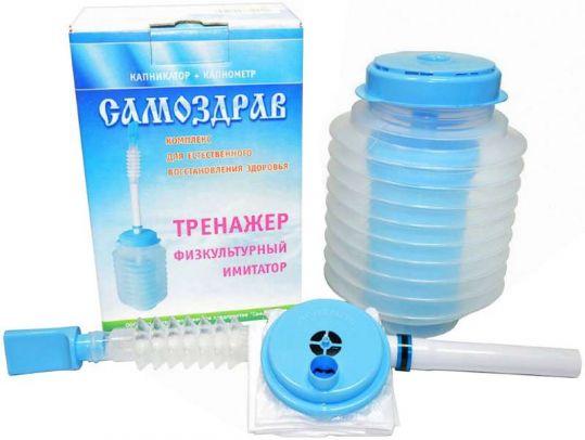 Самоздрав дыхательный тренажер стандарт, фото №1