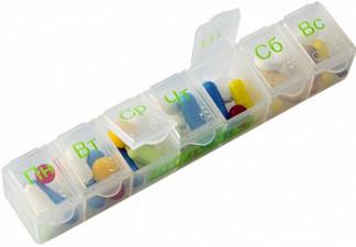 Пилюля таблетница арт.3012 на 7 дней