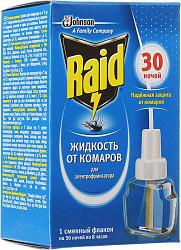 Рейд (raid) жидкость от комаров 30 ночей