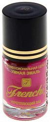 Френчи лак-укрепитель для ногтей тон-23 розовая орхидея 11мл