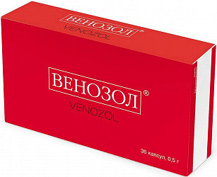 Венозол капсулы 0,5г 36 шт.