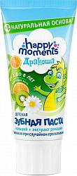 Дракоша зубная паста для детей гелевая фруктовая мята 60г