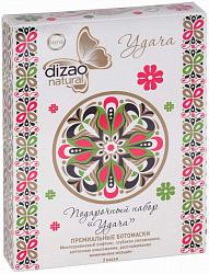 Дизао натур набор подарочный ботомасок для лица/шеи/век удача