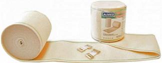 Альмед бинт эластичный медицинский компрессионный ср 100ммх3м с застежкой