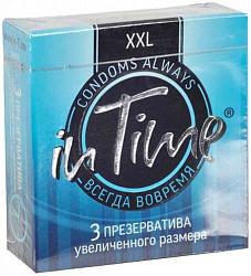 Ин тайм презервативы увеличенного размера xxl 3 шт.