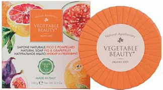 Веджетабл бьюти мыло натуральное инжир/грейпфрут 100г