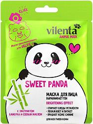 Вилента энимал маск маска тканевая свит панда экстракт бамбука и соевое масло 1 шт.