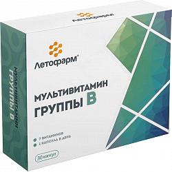 Мультивитамин группы в капсулы 400мг 30 шт.