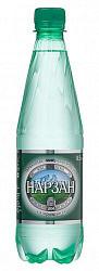 Нарзан вода минеральная газированная 0,5л бутылка пэт.