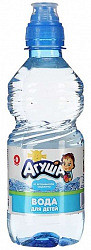 Агуша вода питьевая для детей 0,33л