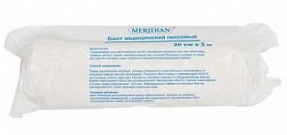 Меридиан бинт гипсовый 20смх3м