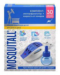 Москитол нежная защита прибор+жидкости 30 ночей
