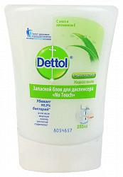Деттол мыло жидкое для рук алоэ и витамие е 250мл диспенсер