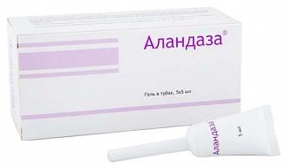 Аландаза гель для интимной гигиены 5мл 5 шт.