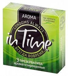 Ин тайм презервативы ароматизированные 3 шт.
