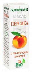 Масло персика гидрофильное с гиалуроновой кислотой 100мл