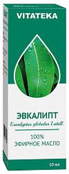 Витатека масло эфирное эвкалипт 10мл
