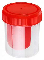 Контейнер стерильный для биоматериалов со шпателем 60мл