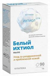 Витатека мыло белый ихтиол 2,5% для ухода за раздраженной проблемной кожей 90г