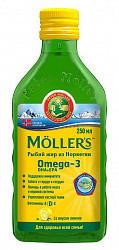 Меллер рыбий жир со вкусом лимона 250мл