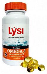 Лиси омега-3 капсулы с витамином д 120 шт. акция