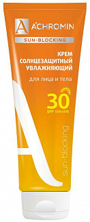 Ахромин сан-блокинг крем для лица/тела солнцезащитный spf30 250мл