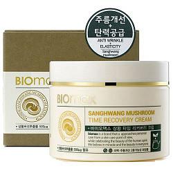 Биомакс крем для лица антивозрастной с экстрактом гриба санхван 100мл