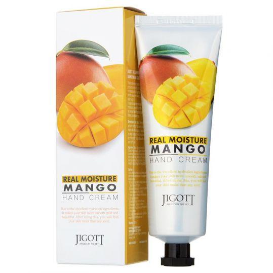 Джиготт крем для рук увлажняющий с экстрактом манго 100мл, фото №1