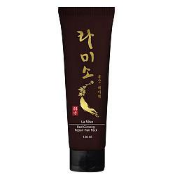 Ла мисо маска для волос восстанавливающая с экстрактом красного женьшеня 120мл