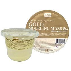 Ла мисо маска для лица моделирующая альгинатная с частицами золота 28г