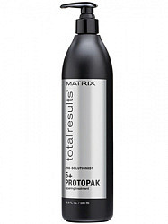 Матрикс тотал резалт про солюшионист тотал трит уход для волос протопак восстанавливающий 500мл