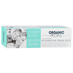 Органик пипл зубная паста органическая зум 3 вайт 100г