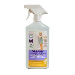 Органик пипл эко спрей для сантехники и кафеля лимон 500мл