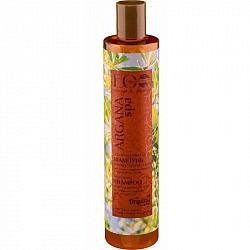 Эколаб аргана спа шампунь для волос восстанавливающий глубокое питание и блеск 350мл