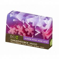 Эколаб мыло глицериновое цветочное 130г