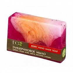 Эколаб мыло глицериновое ягодное 130г
