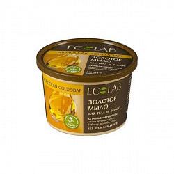 Эколаб мыло для тела и волос золотое 450мл