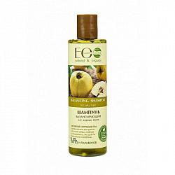 Эколаб шампунь для жирных волос балансирующий 250мл
