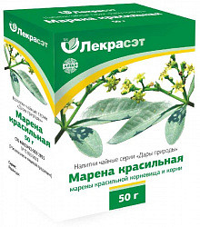 Марены корневища здоровье чайный напиток 50г