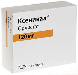 Ксеникал 120мг 84 шт. капсулы ф.хоффманн-ля рош лтд/дельфарм милано с. размер л.